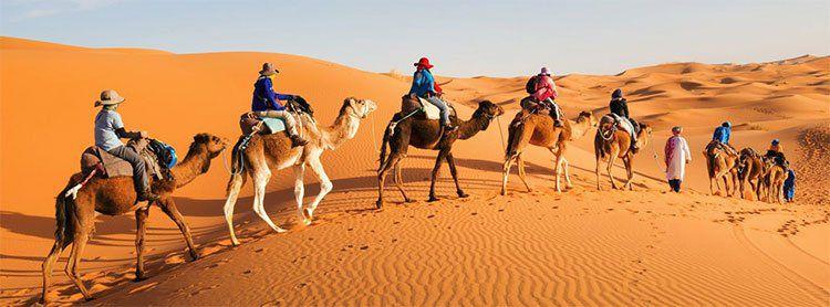 8 Tage Rundreise Marrakesch & Sahara inkl. Ausflug, Flügen, Hotels & mind. Frühstück ab 339€ p.P.