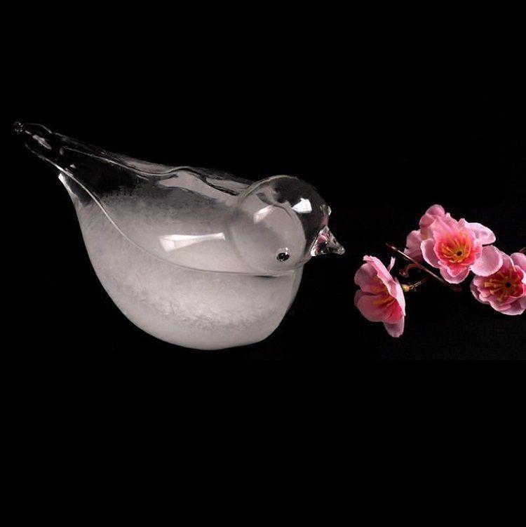 Sturmglas   Wetteranzeigender Vogel für 5,99€