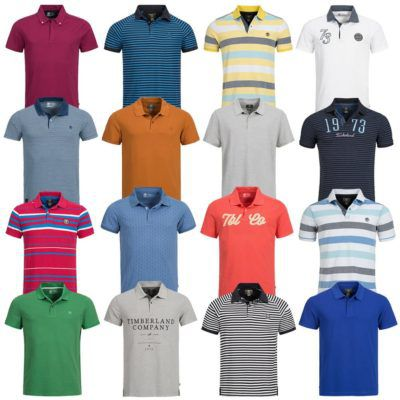 Timberland Herren Polo Shirts   verschiedene Modelle für je 22,99€