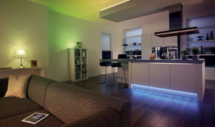 Philips Hue LightStrips   Erweiterung für HUE Set LED 2m Lichtband 16 Mio Farben ab 25,49€