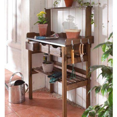 Pflanztisch für Gartenarbeiten mit drei Schubladen für 44,91€ (statt 60€)