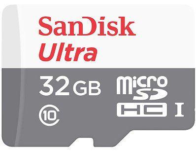 SANDISK Ultra micro SDHC mit Class 10 und 32 GB für 11€
