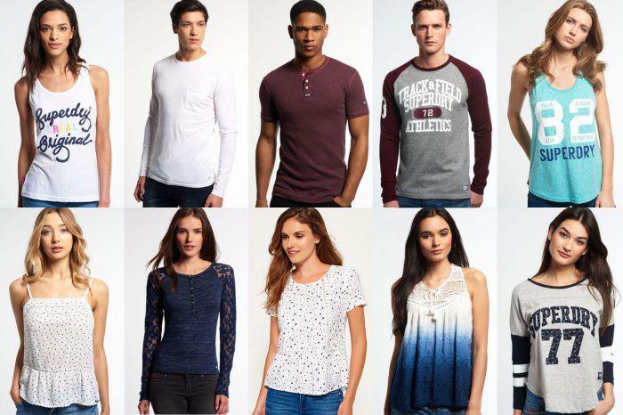 Superdry Pullover, Sweatshirts, Tops für Damen und Herren für je 19,95€