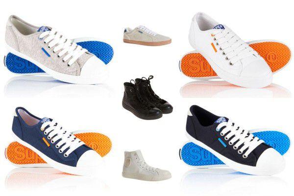 Superdry Herren Sneaker   verschiedene Modelle für 19,95€