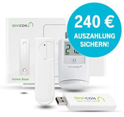 Wieder da! Telekom Smart Home (Station, Heizkörperthermostat, Fensterkontakt) effektiv 2 Jahre gratis + einmalig 9,95€