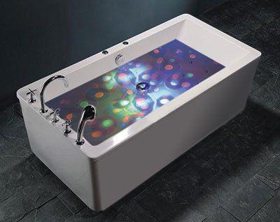 Schwimmendes & klebendes LED Licht für das Bad z.B. für 1,16€