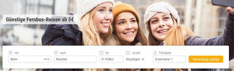 Last Minute Flixbus Tickets ab 5,99€   nur von 17 22 Uhr!