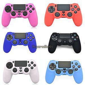 Silikon Cover in vielen Farben für PS4 Controller für je 1,29€