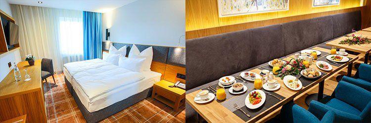 2 ÜN in Suhl in neuem Hotel inkl. Frühstück, Dinner & Wellness ab 89€ p.P.