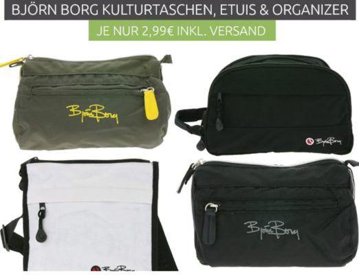 Björn Borg Kulturtaschen & Etuis Ausverkauf für je 2,99€
