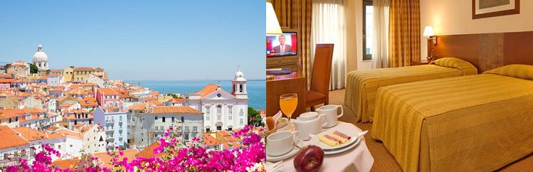 2   3 ÜN im 3* Hotel in Lissabon inkl. Frühstück und Flüge ab 109€ p.P.