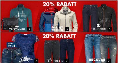 Karstadt Muttertags Kracher mit z.B. 20% auf Damen Fashion und Pflegeprodukte