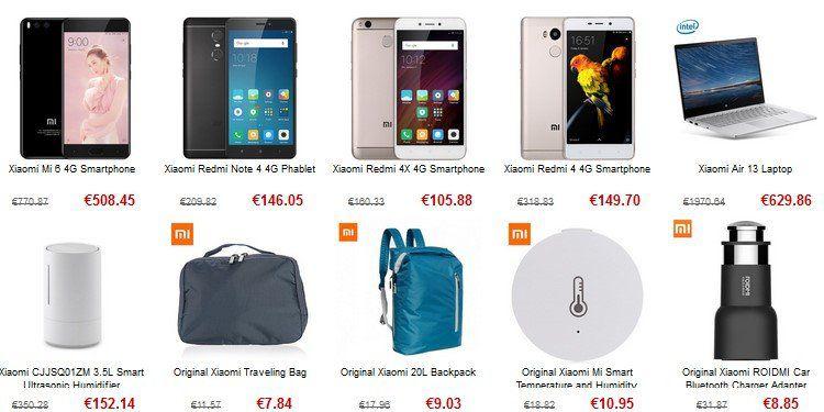 Xiaomi Produkte im Sale – z.B. Xiaomi Redmi 4A ab 88,54€