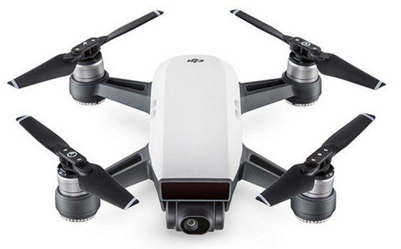 Dji Spark Drohne (Gestensteuerung, 12 MP, Rückkehrfunktion) für 389,34€ (statt 527€)