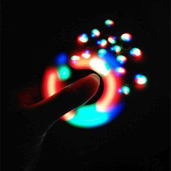 Fidget Spinner mit LEDs für 0,53€