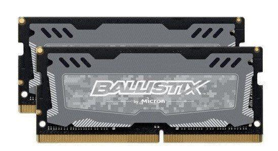 Bis 13 Uhr: Crucial Ballistix Sport LT 2x8GB DDR4 RAM CL16 SODIMM 260pin für 129,90€ (statt 164€)