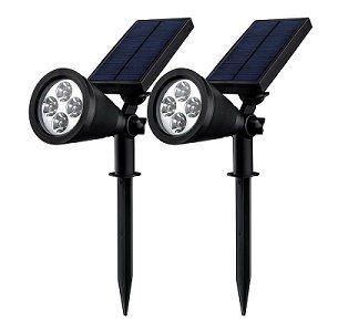 2 Mpow Gartenleuchten Soleil für 23,99€ oder Mpow Spot Leuchte mit 4 Farb LEDs für 17,59€