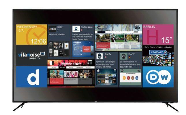 Knaller! JAY TECH GENESIS 65 Zoll Smart UHD TV für nur 599€