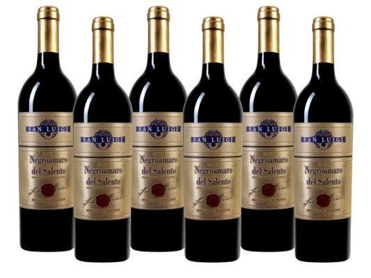 6 Flaschen Salento IGT   San Luigi Sigillo dell Enologo Negroamaro für 29,99€ (statt 41€)
