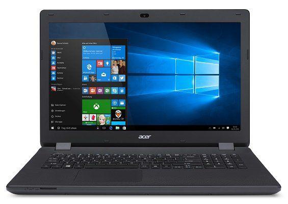 Acer Aspire ES1 731 C7WT   17,3 Notebook mit Windows 10 & 500 GB HDD für 333€ (statt 373€)