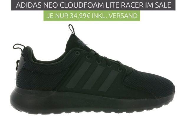 adidas neo Lite Racer Herren Sneaker für 34,99€ (statt 58€)