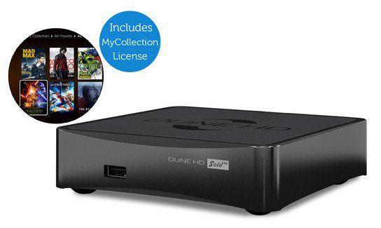 Dune HD Solo Lite 4k Mediaplayer mit WLAN für 105,90€ (statt 210€)