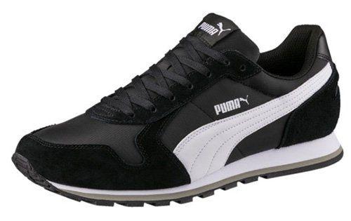 Puma ST Runner NL Sneaker in Schwarz Weiß für 29,95€ (statt 40€)