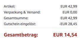 Einhell TH CD 12 2 Li Akku Bohrschrauber 12V 1,3Ah für 14,52€ (statt 43€)