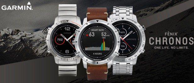 20% Rabatt auf Garmin Smartwatches & Fitnesstracker   z.B. Garmin fenix 5S für 560€ (statt 700€)