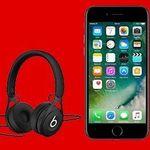 iPhone 7 + Beats EP Kopfhörer + Telekom Allnet-Flat + 2GB für 39,99€ mtl.