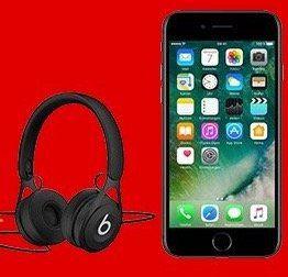 iPhone 7 + Beats EP Kopfhörer + Telekom Allnet Flat + 2GB für 39,99€ mtl.
