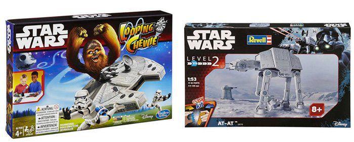 40% auf ausgewählte Star Wars Artikel   z.B. AT AT Modell Set für 42€ (statt 58€)