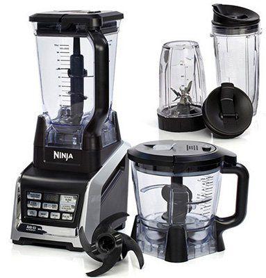 Nutri Ninja BL682 Küchenmaschine mit Auto iQ und viel Zubehör für 156,90€ (statt 226€)
