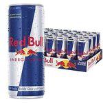 Energy Drinks und Softgetränke bei Amazon – z.B. 24er Pack Red Bull für 20,99€