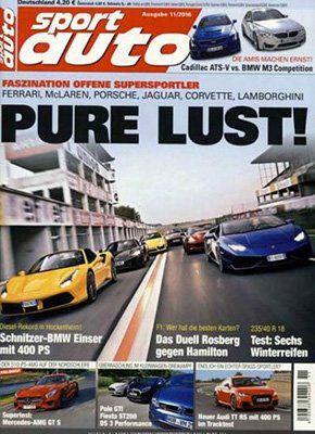 12 Ausgaben Sport Auto für 57,60€ + 25€ Gutschein