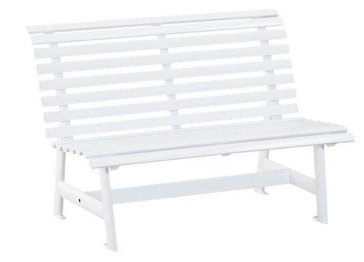 Kettler Alu Gartenbank in Weiß (2 Sitzer) für 101,99€ (statt 128€)