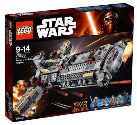 Lego Star Wars   Rebel Combat Frigate (75158) für 83,99€ (statt 110€)