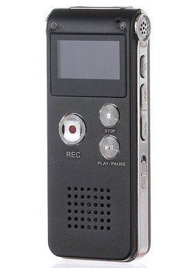 Professional GH609 Digital Voice Recorder mit 8GB für 14,60€