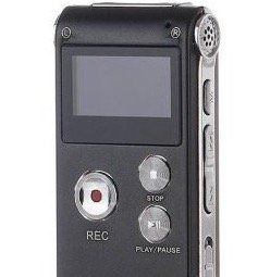Professional GH609 Digital Voice Recorder mit 8GB für 14,60€