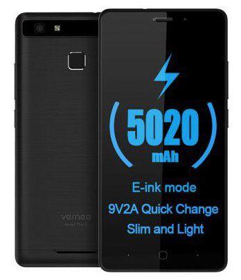 Vernee Thor E   5 Zoll Smartphone mit sehr großem Akku für 101,84€ (statt 119€)