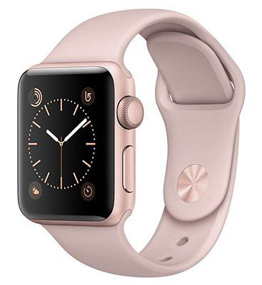 Apple Watch Series 1 38mm in Roségold ab 193,99€ (statt 300€)   refurbished!