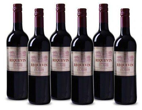 6 Flaschen Utiel Requena DO Tempranillo Rotwein für 19,99€