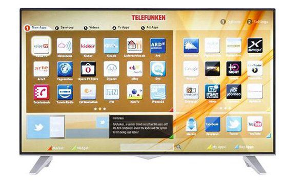 Telefunken D43U309X5CW   43 Zoll 4k Fernseher mit Triple Tuner für 393,45€ (statt 562€)
