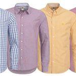 Timberland Karo Herren Langarm-Hemden für je 32,99€