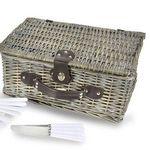 Picknickkorb mit Geschirr + Besteck für 2 Personen nur 24,99€ (statt 29€) – oder 4 Personen nur 29,99€ (statt 40€)