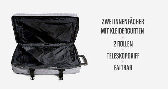 Eastpak Trolley mit Rollen (78 Liter) für 72€ (statt 90€)
