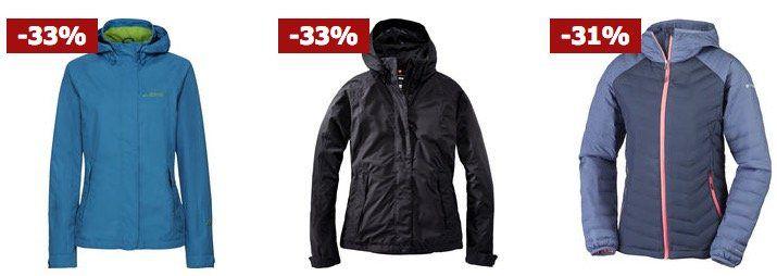 30% auf Outdoorjacken bei Karstadt   z.B. Jack Wolfskin Shelter Damenjacke für 88,25€ (statt 99€)