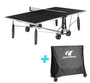 Ausverkauft! Cornilleau Outdoor Tischtennisplatte mit Schutzhülle für 399,99€ (statt 500€)