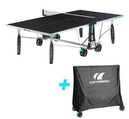 Cornilleau Outdoor Tischtennisplatte mit Schutzhülle für 419,99€ (statt 500€)