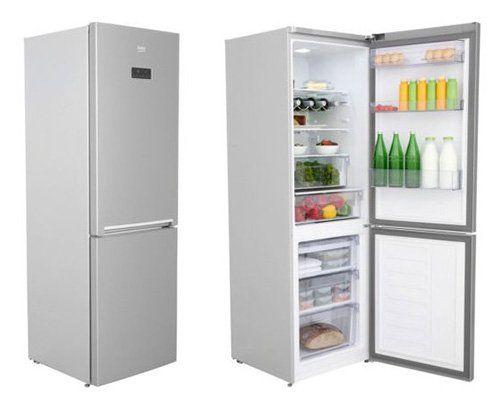 Beko RCNE365E40X Kühl Gefrierkombi mit NoFrost für 404€ (statt 521€)
